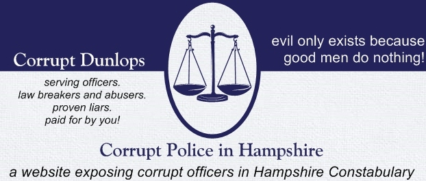 corrupt police in Hampshire